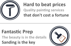 Hard to Beat Painting prices, with fantastic prep