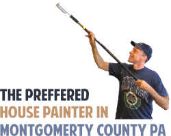 Mark is the preferred house painter in Montgomery County PA